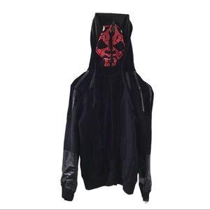 Star Wars x Marc Ecko Darth Maul Hoodie S zip up